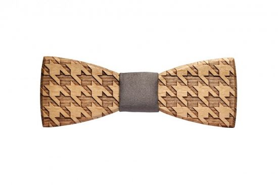 BeWooden - wooden bow tie Lynx handmade with love