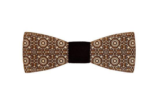 BeWooden - wooden bow tie Bellis handmade with Love