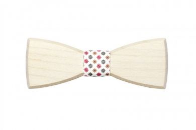 BeWooden - wooden bow tie Lilium handmade with love
