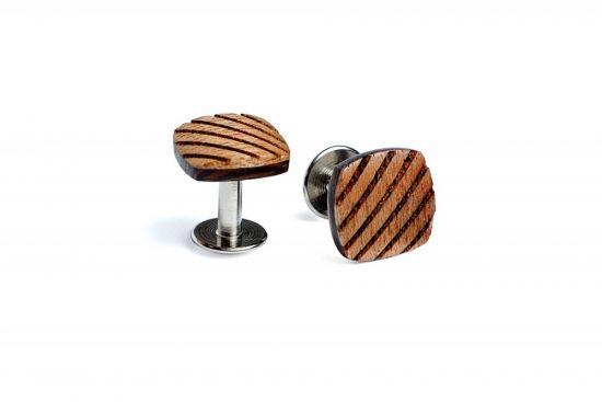 BeWooden - Wooden Cufflinks Sull