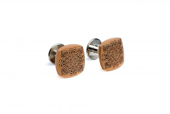 BeWooden - Wooden Cufflinks Bella
