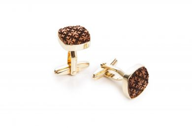 BeWooden - Wooden Cufflinks Decorum