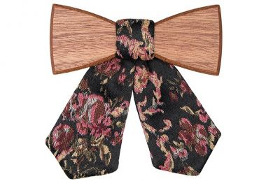 BeWooden - Wooden bow tie Rosis for Ladies