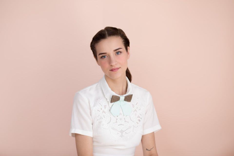 BeWooden - Wooden bow tie Denique for her
