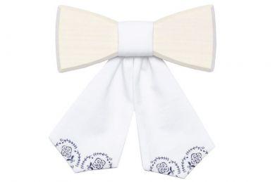 BeWooden - Wooden bow tie Viola