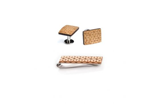 BeWooden - Wooden accessories sets, wooden cufflinks and tie clips
