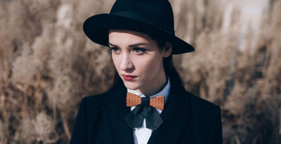 BeWooden - Wooden bow tie model Fora