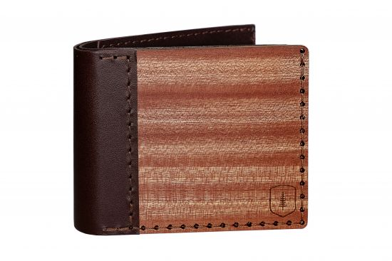 BeWooden - Wooden wallet Red Virilia