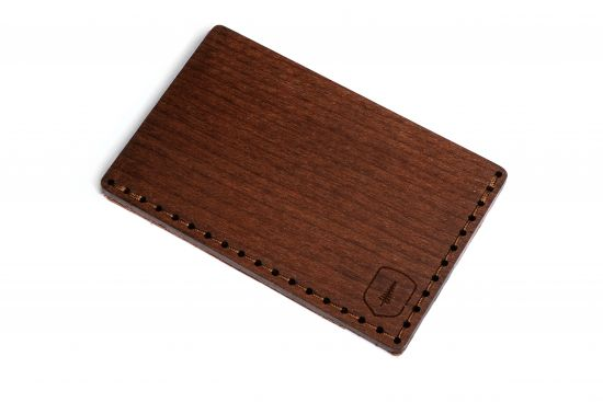 BeWooden - Wooden Card Holder Brunn Note