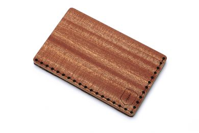BeWooden - Wooden Card Holder Red Note