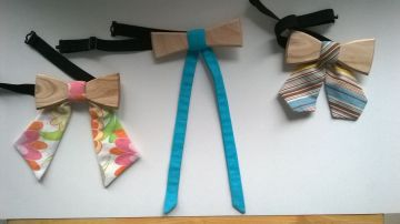 BeWooden - Wooden bow tie for ladies