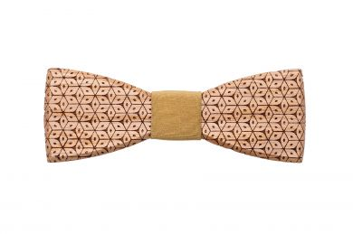 wooden bow tie Sole handmade with Love
