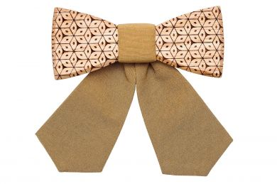 BeWooden - Stylish Wooden bow tie for women