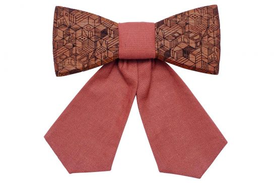 BeWooden - Wooden bow tie Rea for Ladies