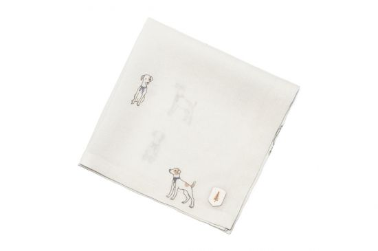 BeWooden - pocket Square suit doggy square