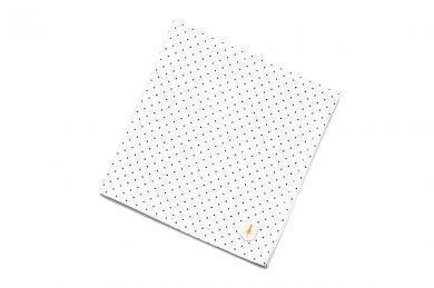 BeWooden - pocket Square suit unique Dots square