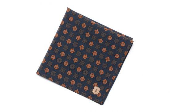 BeWooden - pocket Square suit unique Sapphire square