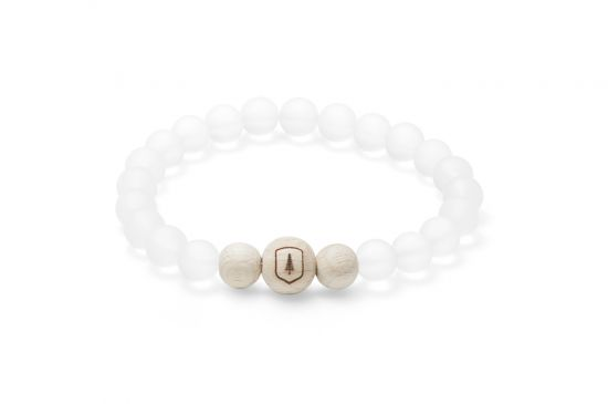 BeWooden - Pearl bracelet Ice, elegant and stylish