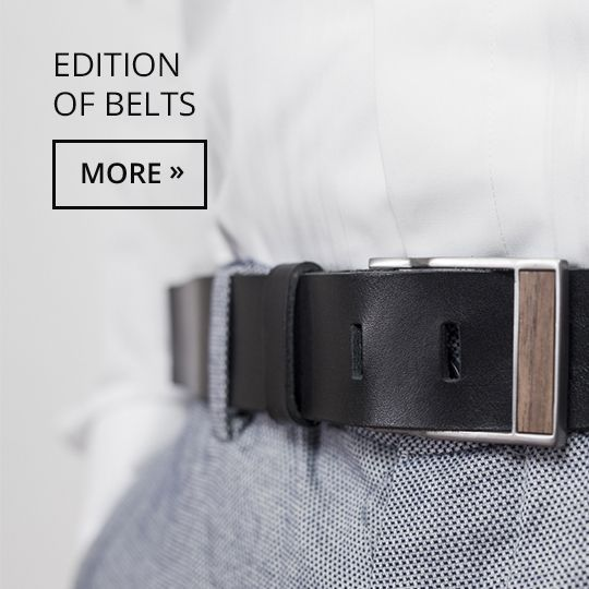 The belt with details