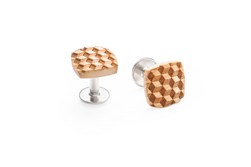 product_wooden_cufflinks_cubo_cuff