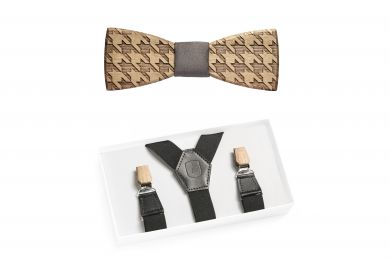 BeWooden - Apis Suspenders & Lynx