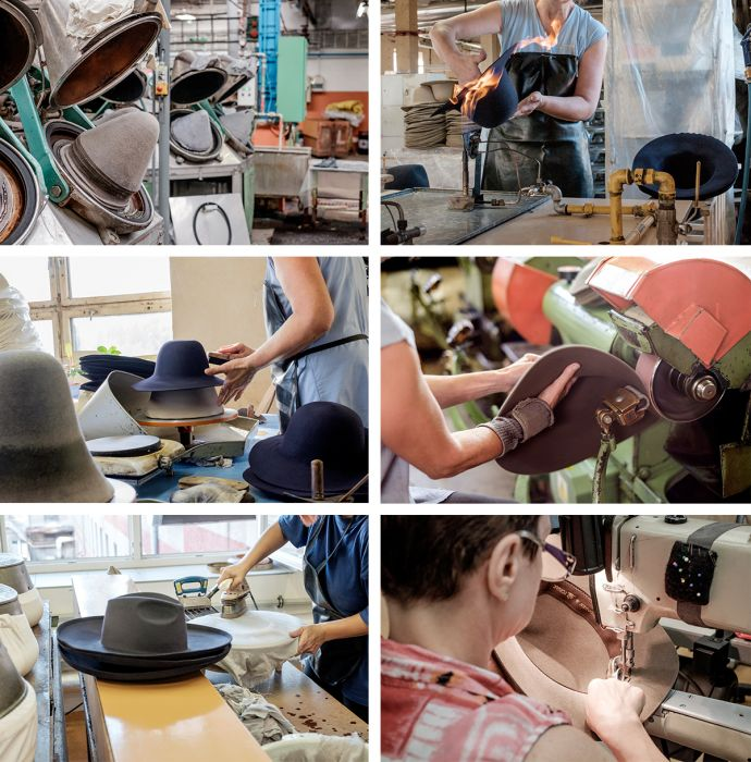 Tonak handmade hat production