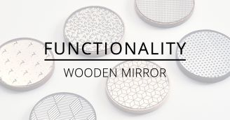 BeWooden - Functionality: Wooden mirror