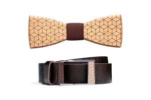 Bow tie & Belt Set
