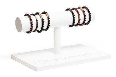 BeWooden - 0 Bracelet Stand long white