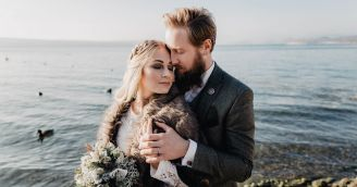 BeWooden - A magical wedding - Scandinavian style