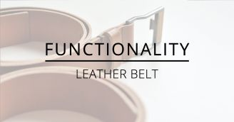 BeWooden - Functionality: Leather belt with a wooden detail