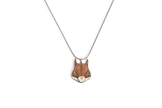 Necklace with squirrel pendant bewooden bewooden 0 squirrel pendant aloadofball Image collections