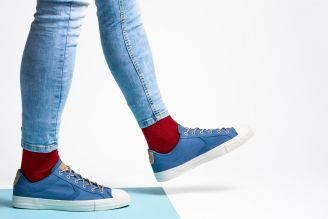 Colorful cotton socks - The trend of summer