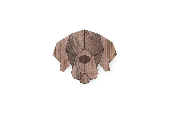 BeWooden - 0 Mastiff brooch cover