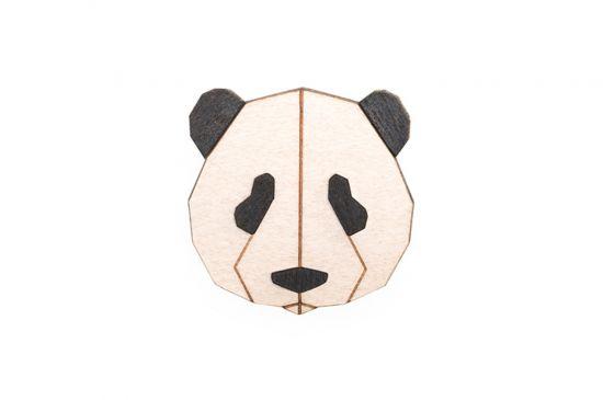 Panda Brooch