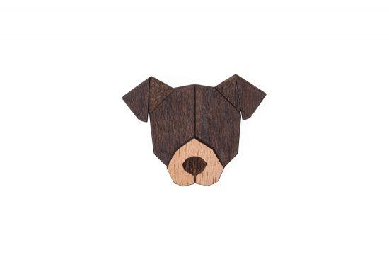 BeWooden - 0 American Pit Bull Terrier Brooch