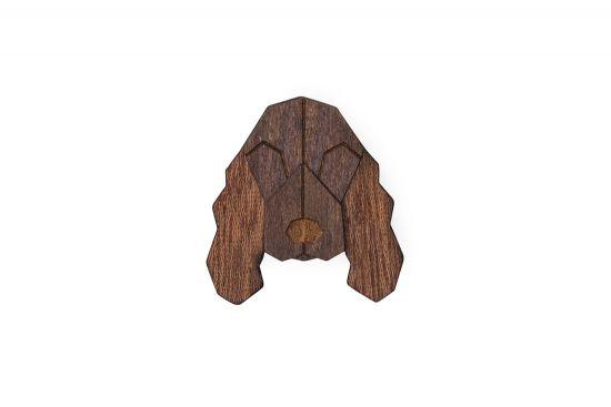 BeWooden - 0 Cocker Spaniel brooch