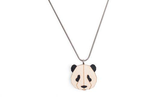 BeWooden - Panda Pendant