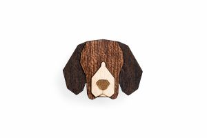 Beagle Brooch