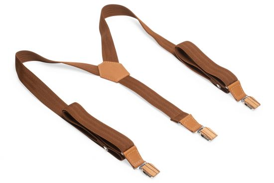 BeWooden - 0 Cognac Suspenders