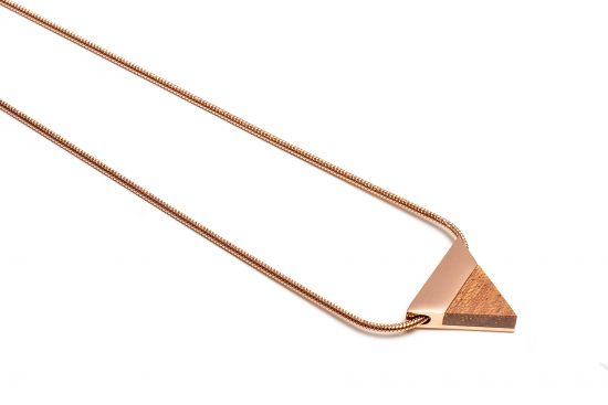 BeWooden - Rea Necklace Triangle