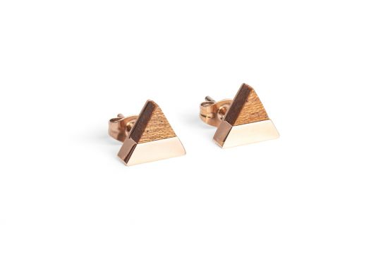 Rea Earrings Triangle