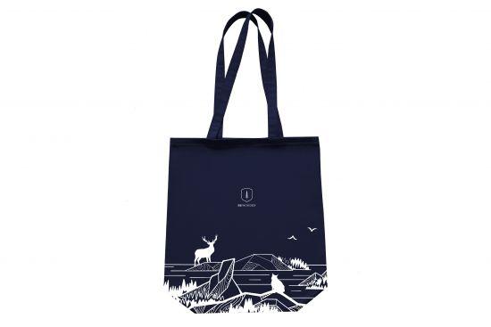 BeWooden - blue-fabric-bag
