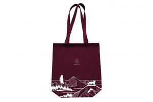 Bordo Fogrocks Fabric Handbag
