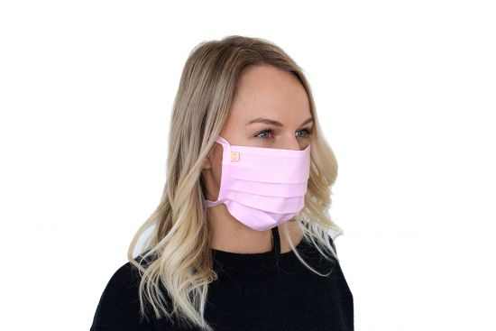 Stylish face mask Rea Mask BeWooden made from 100% cotton