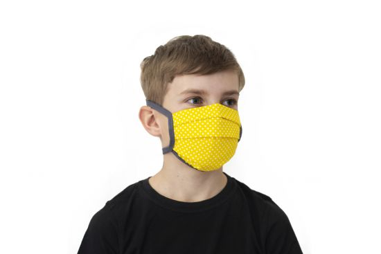 BeWooden - Bee kids mask model