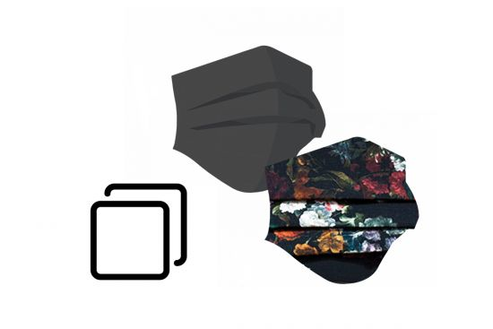 BeWooden - 2 Fashion Masks + 1 Filter