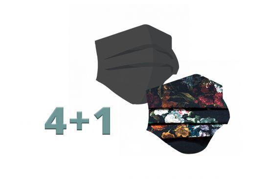 4+1 Fashion Masks