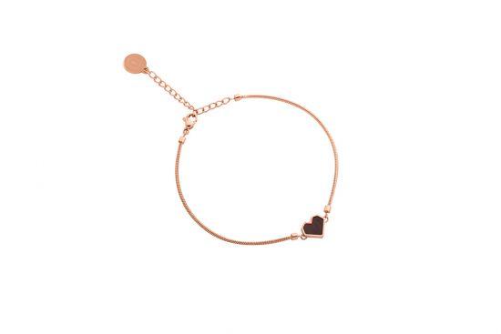 Rose Bracelet Heart