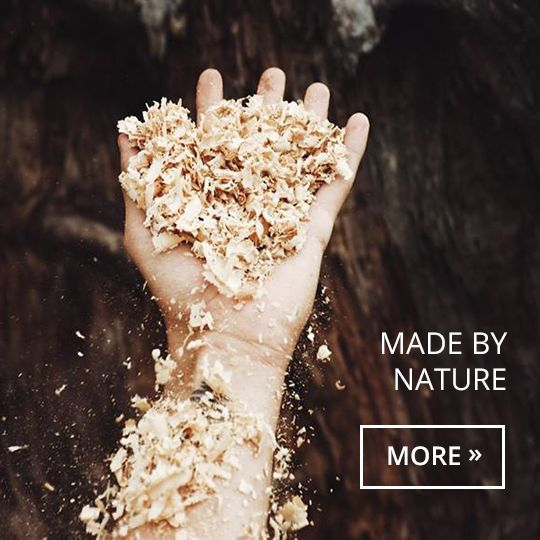 male_hand_is_holding_sawdust